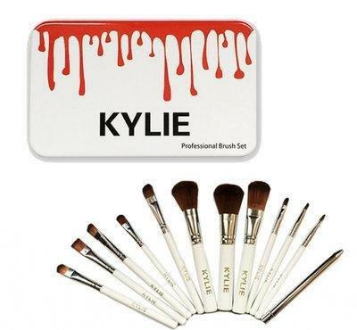 Кисти для макияжа Kylie 12 штук