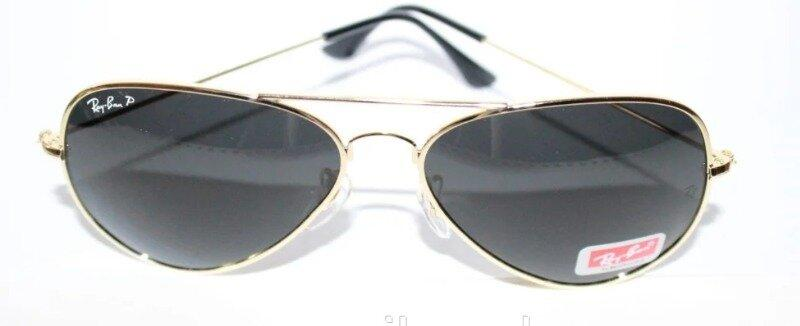 Легендарные очки Ray Ban Aviator Оранжевые линзы