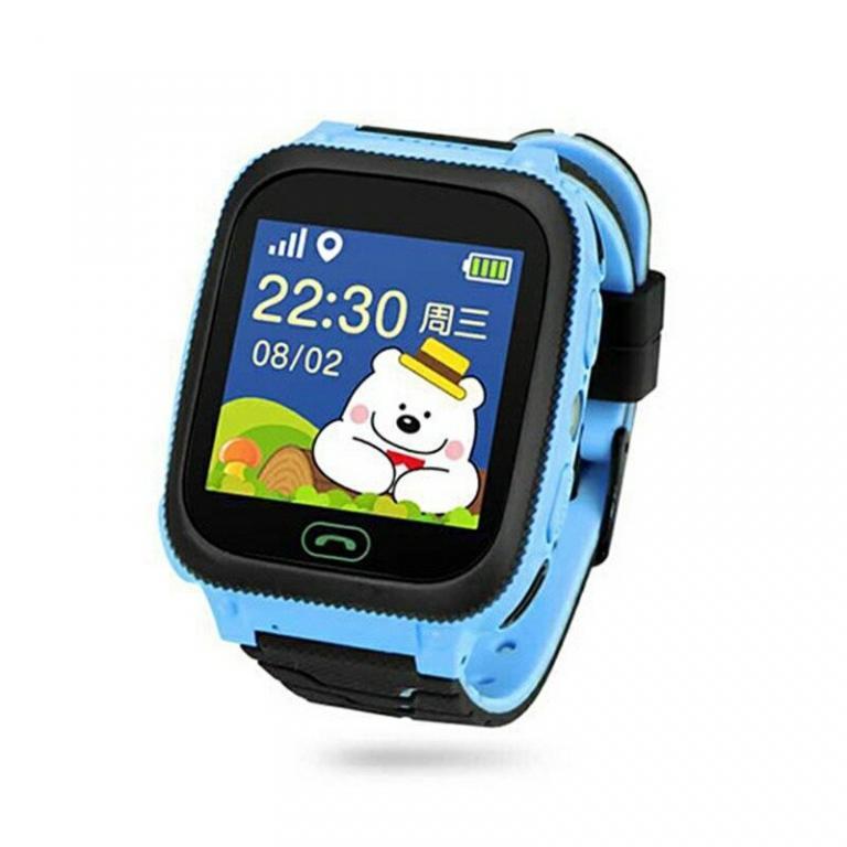 Детские Smart часы с GPS трекером Q528 камера