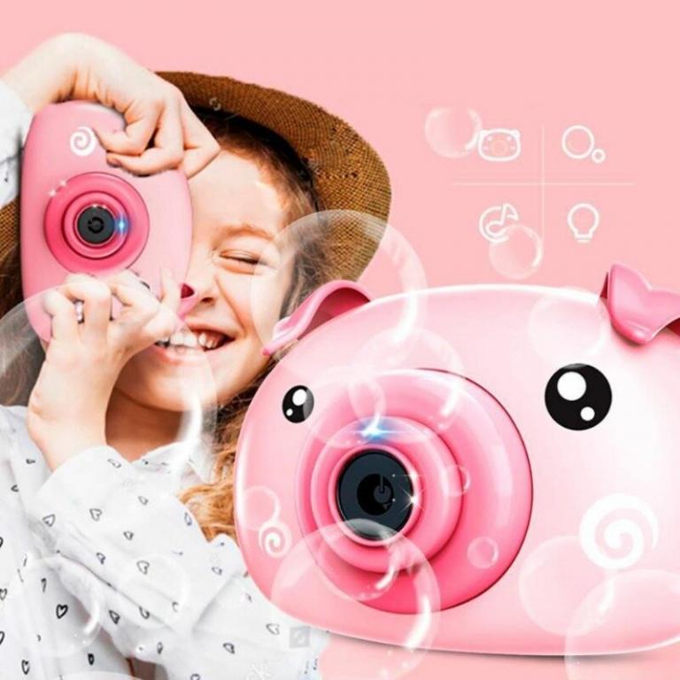 Bubble Camera Фотоаппарат для мыльных пузы Фотоапарат для мильних бульбашок