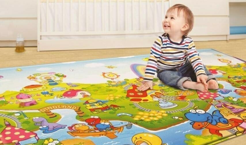 Детский игровой коврик Термоковрик для детей 120х180 см 0,5 см толщина для игры и отдыха