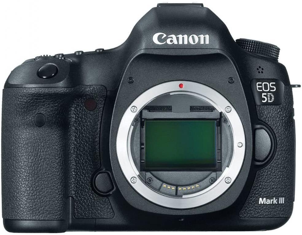 Цифровая зеркальная фотокамера Canon EOS 5D Mark III 22,3 МП с полнокадровым датчиком изображения