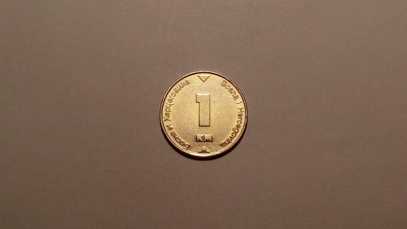 Босния и Герцеговина 1 марка 2002 года