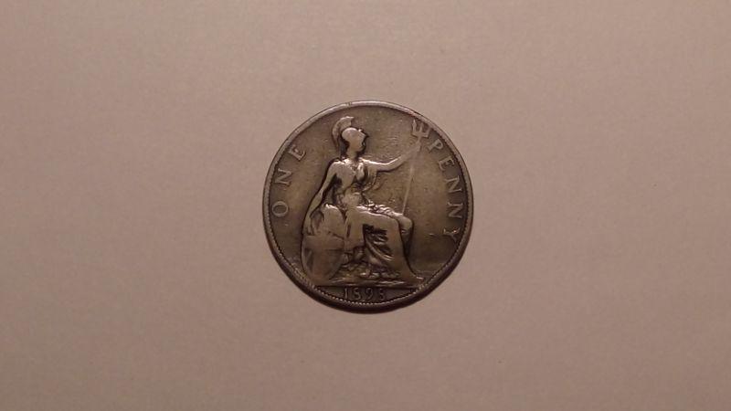 Великобритания 1 пенни 1898 года