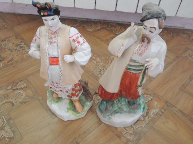 статуэтки-одарка и карась