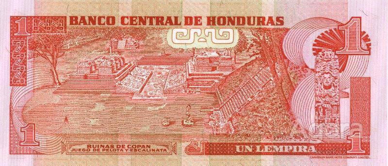 Гондурас !!  1 лемпира 2000 г !!!  UNC !!
